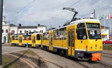 В понедельник в Днепре два трамвайных рейса приостановят работу