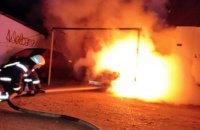 В Каменском спасатели ликвидировали возгорание автомобиля