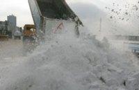 В Днепропетровске уже 3-ю неделю длится процесс подтопления