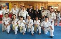 Каратисты Днепропетровщины завоевали пять золотых медалей на всеукраинском чемпионате