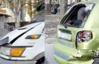 В Кривом Роге авто автошколы попало в ДТП: обошлось без пострадавших