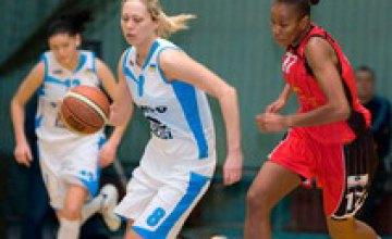 Днепропетровские баскетболистки Оксана Киселева и Елена Самбурская выступили на Чемпионате Европы