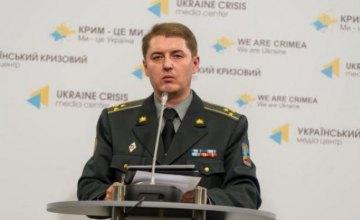 За сутки в зоне АТО погибших и раненых среди украинских военных нет