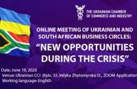 Предпринимателей области приглашают на онлайн-конференцию с представителями южно-африканских деловых кругов