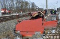 На Волыни легковушка столкнулась с поездом: пострадало 4 человека (ФОТО)