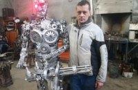 В Бердянске студенты сконструировали «Терминатора» (ФОТО)
