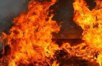 В Днепре на Донецком шоссе в многоэтажном доме горела шахта лифта