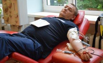 Спасатели Днепропетровщины приняли участие в акции к Международному дню донора крови (ФОТО)