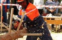 В Днепропетровской области пройдут региональные соревнования вальщиков леса