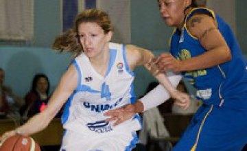 Днепропетровские баскетболистки уступили киевлянкам со счетом 63:68