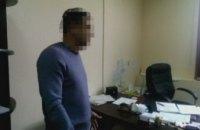 Задержанный за взятку депутат Днепровского горсовета оказался бывшим однопартийцем Филатова