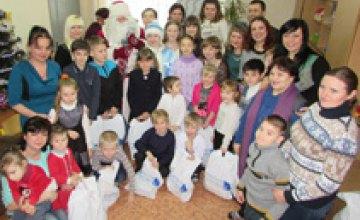 В Терновке на Днепропетровщине Фонд Вилкула передал подарки обществу детей-инвалидов