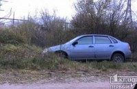 На Днепропетровщине выпивший водитель на автомобиле съехал в кювет