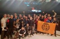 Днепровские спортсмены заняли второе общекомандное место на чемпионате Украины по ММА