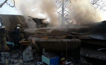 На Днепропетровщине в гараже произошел взрыв газа: есть пострадавшие (ФОТО)