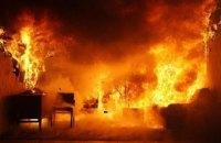 В Кривом Роге случился пожар в пятиэтажке: в одной из квартир сгорел холодильник и кухонная мебель