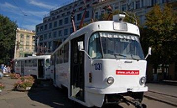 В Кривом Роге определили лучшего в Украине водителя трамвая