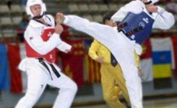 Днепропетровские спортсмены заняли первое место в турнире по тхэквондо