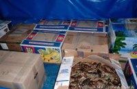 Житель Днепропетровщины пытался в ящиках из-под бананов отправить в Одессу 330 кг раков
