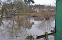 Проливные дожди затопили дворы под Киевом (ФОТО)