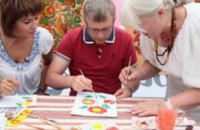 В университете им. Драгоманова откроется выставка Петриковской росписи