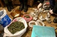 На Днепропетровщине задержали преступную группировку с наркотиками на сумму более 1 млн грн