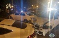 В Одессе BMW протаранил пять машин (ФОТО, ВИДЕО)