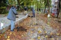 Дніпро-квітучий: понад 5000 молодих дерев висадять на прибудинкових територіях житлових будинків