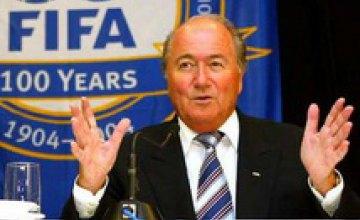 Президент FIFA извинился за безобразное судейство на ЧМ–2010