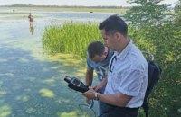 За счет средств областного бюджета начинается расчистка залива реки Днепр на ж/м Красный Камень
