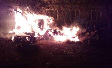 Павлоградские спасатели обеспокоены ситуацией с пожарами в жилом секторе