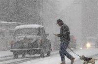 Болгарию накрыло снегом
