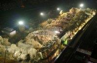 В Китае за десять секунд снесли 19 зданий (ВИДЕО)