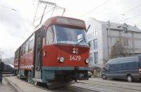 4 июня в центре Днепра приостанавливается движение трамваев