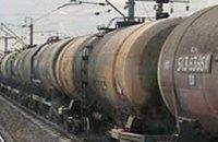 В Донецкой области с рельсов сошли цистерны с топливом