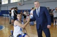 В Днепре прошла открытая тренировка по баскетболу на колясках сборной Украины Игр Воинов
