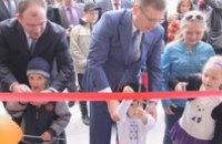 Вице-премьер-министр открыл в Новомосковске новый дом, построенный по программе «Доступное жилье»