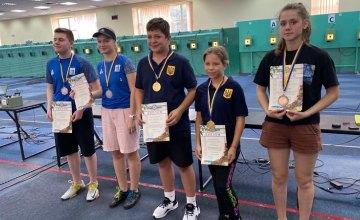 Дніпровські спортсмени стали призерами чемпіонату України з кульової стрільби