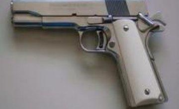 В Днепропетровске у местного жителя обнаружили оружие и боеприпасы