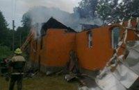 В Закарпатской области пожар чуть не уничтожил церковь святого Пантелеймона