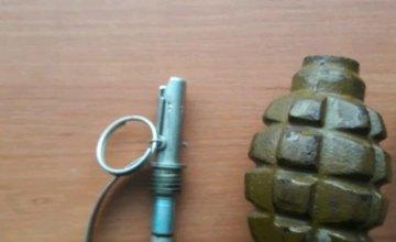 На Днепропетровщине правоохранители изъяли гранату Ф-1 и пистолет