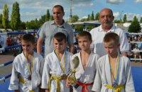 В Терновке юные дзюдоисты получили от Радикальной партии многофункциональный тренажер (ФОТО)