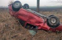 В Павлоградском районе легковушка вылетела с дороги: спасатели извлекли тело  водителя из покореженного автомобиля