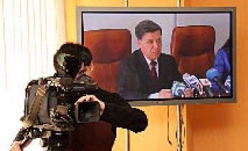 Пресс-конференция «Туристические возможности Днепропетровской области» в пресс-центре ИА «НОВЫЙ МОСТ»