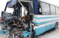 В Житомирской области фура столкнулась с рейсовым автобусом (ФОТО)