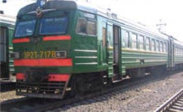 Приднепровская железная дорога назначила 6 дополнительных поездов на новогодние праздники