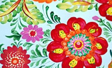 Выставка петриковской росписи (ФОТОРЕПОРТАЖ)