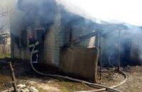 На Днепропетровщине произошел пожар в частном доме (ВИДЕО,ФОТО)