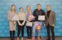 В мэрии Днепра поздравили призеров и участников чемпионата мира по легкой атлетике
