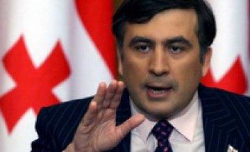 Саакашвили ввел режим военного положения в Грузии